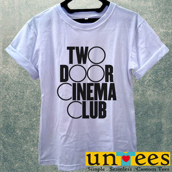 Low Price Women's Adult T-Shirt - Two Door Cinema Club Logo design