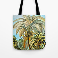 TROPICAL JUNGLE Tote Bag by Digital Effects