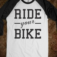 RIDE YOUR BIKE (BASEBALL TEE)