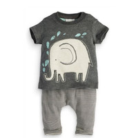Elephant Shirt Pants Set