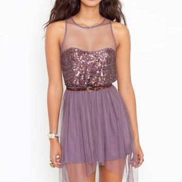 Jozlyn Sequin Dress in  What's New at Nasty Gal