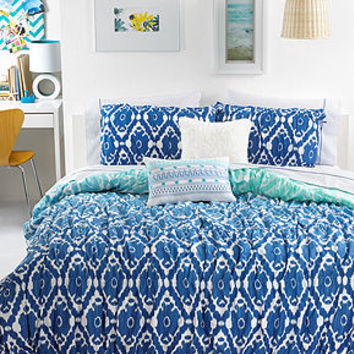 Seventeen Bedding, Ombre Ikat Comforter Sets - Bed in a Bag - Bed & Bath - Macy's