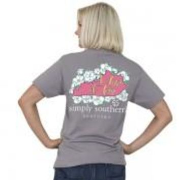 "Simply Southern State ""Kentucky"" Tee-2x"