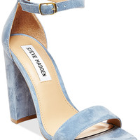 Steve Madden Women's Carrson Ankle-Strap Dress Sandals - Heels - Shoes - Macy's