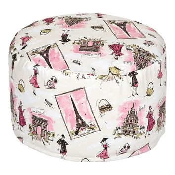 Waverly Tres Chic Petite Pouf