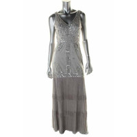 Sue Wong Womens Party/Prom Embellished Formal Dress