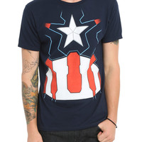 Marvel Avengers: Age Of Ultron Captain America T-Shirt