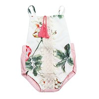 Summer Baby Rompers Newborn Baby Boy Girls Clothes Short Sleeve Baby Clothing Girl Body Jumpsuit