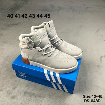 Adidas TUBULAR INVADER 750 High-Top Fashion Men Women Casual Skate Shoes
