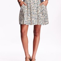 Old Navy Patterned Soft Skirts
