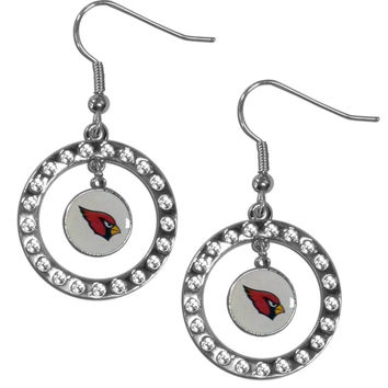 NFL Team Rhinestone Hoop Earrings