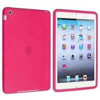 eForCity Silicone Case Compatible with Apple® iPad® iPad® mini with Retina display (iPad® Mini 2) / Mini , Hot Pink