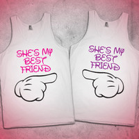 She ' s  My Best Friend | Besties Tanks