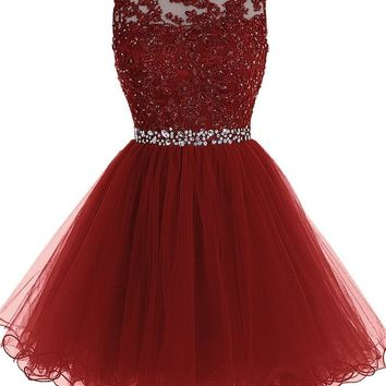 Sweet Diamond Mini Formal Dresses