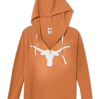 University of Texas Vintage Tunic Hoodie - PINK - Victoria's Secret