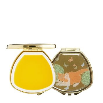 Andrea Garland Lip Balm In Vintage Inspired Pill Box - Tabby