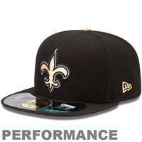 New Era New Orleans Saints 2013 On-Field Player Sideline  Performance 59FIFTY Fitted Hat - Black