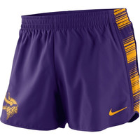 Minnesota Vikings Nike Women's Warpspeed Pacer Performance Shorts - Purple