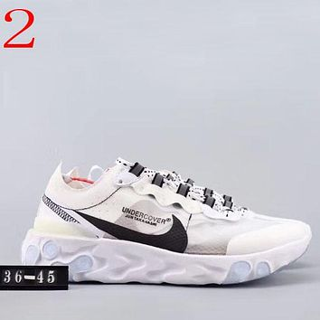 Trendsetter Nike Epic React Element 87 Undercover Women Men Fashion Casual  Sneakers Sport Shoes