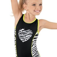 Zebra Heart Leotard