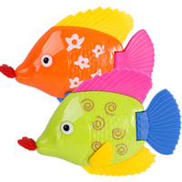 1pc Fish Bath Toys for Boys Girls Baby Bath Toys in the Bathroom brinquedo menino Swimming Fish Water Kids Toys for Children