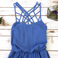 Caged Front Sundress