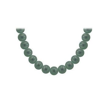 Tahitian Pearl Necklace : 18K Yellow Gold  12.00 - 14.00 MM