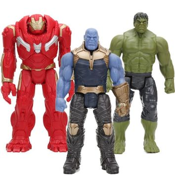 30cm The Avengers 3 INFINITY WAR Thanos Hulk Buster PVC Action Figures TITAN HERO SERIES Figure Collectible Model Marvel Toys