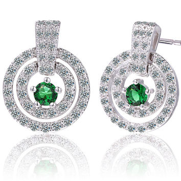 Stylish Crystal Earring Accessory [4918331524]