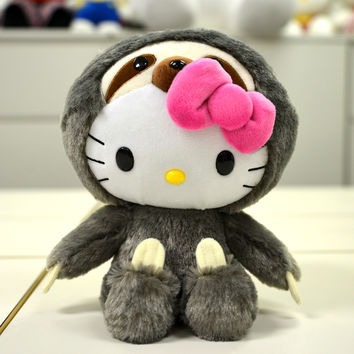 "Hello Kitty 8"" Plushie: Sloth"