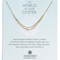 Women's Dogeared Draped Chain Pearl Necklace