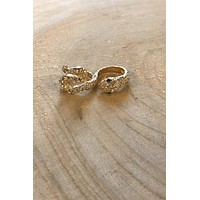 Double The Sass Snake Ring