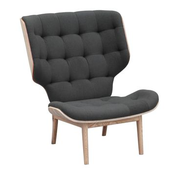 Fine Mod Imports Cuddle Lounge Chair, Gray