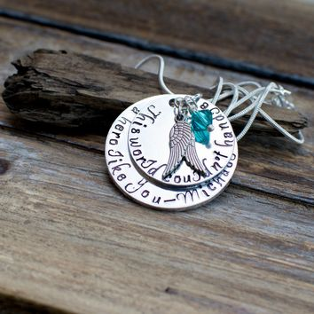 Marine Memorial Necklace, Marine Memorial, Marine Sympathy Gift, Military Memorial, Fallen Officer, Fallen Soldier, Loss of husband, fallen