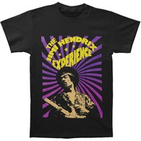 Jimi Hendrix Men's  The Jimi Hendrix Experience T-shirt Black