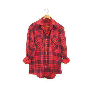 Shop womens red flannel shirt on wanelo for Womens christmas flannel shirt