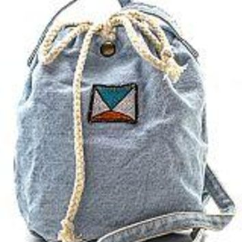 Light Denim Bucket Bag