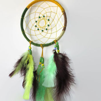 6' Wool Dream Catcher. Native American Art. Large Dream Catcher. Southwestern decor.