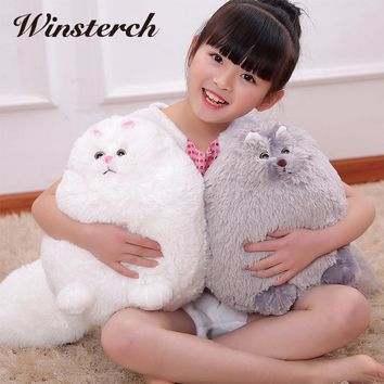 30/50cm Hot Fat Cats Persian Cat Toys Plush Pillow Toys Soft Stuffed Animal Plush Dolls Peluches Gifts Kids Brinquedos WW315