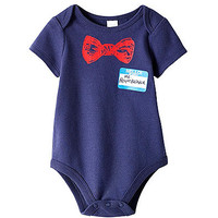 "Cuddle Bear® Baby Boys' ""Heartbreaker"" Bodysuit at www.bostonstore.com"