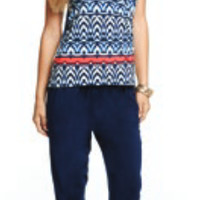 Tart Collection Aryn Top African Stripe Top