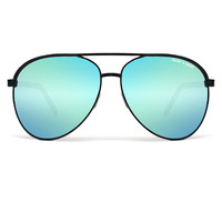 Quay Eyeware x Shay Mitchell Vivienne Sunglasses in Black/Blue