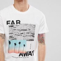 Jack & Jones Originals T-Shirt With Graphic Print at asos.com