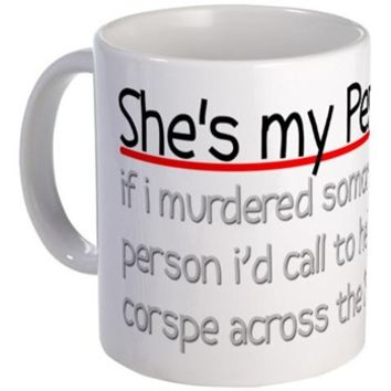 My Person Hat Mug> Grey's Anatomy TV Store