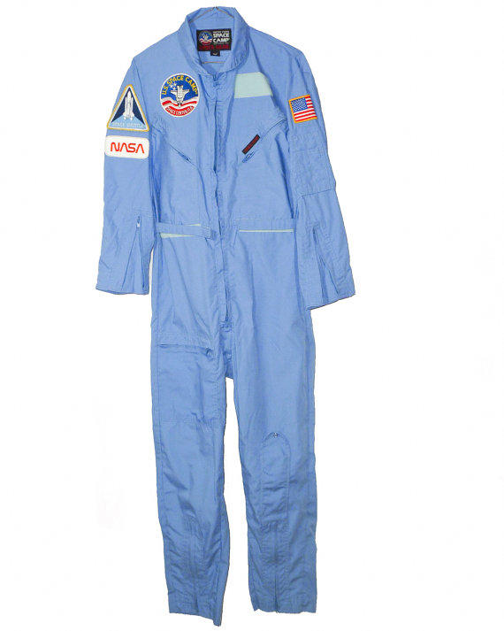nasa jumpsuit blue - photo #22