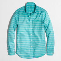 FACTORY LIGHTWEIGHT CHAMBRAY SHIRT IN STRIPE