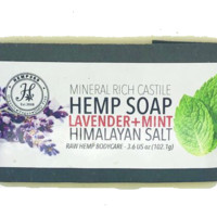 Lavender & Mint - Hemp Extract Soap