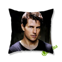 Tom Cruise Square Pillow Cover