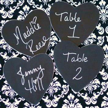 12 Black and White Damask Theme Style Chalkboard by braggingbags