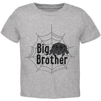 Big Brother Cute Spider Toddler T Shirt